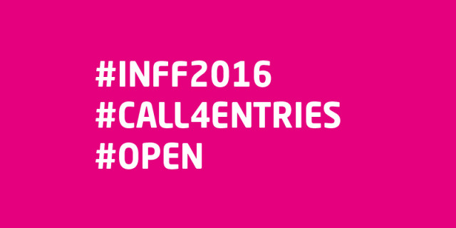 CALL 4 ENTRIES – 2016 INFF